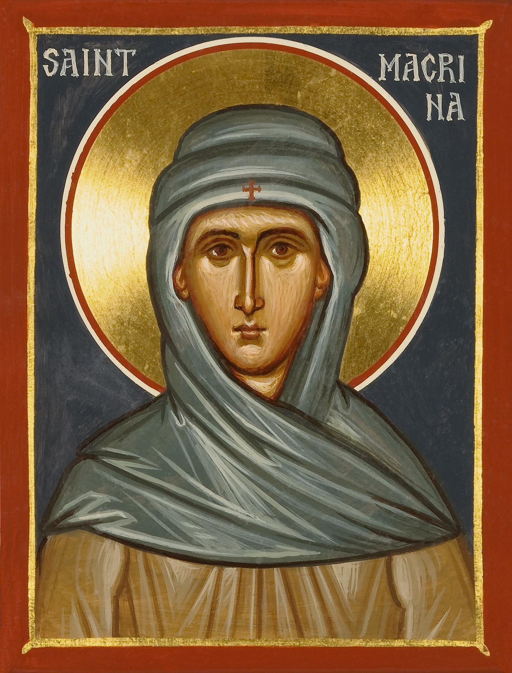 Venerable Macrina the Sister of St Basil the Great