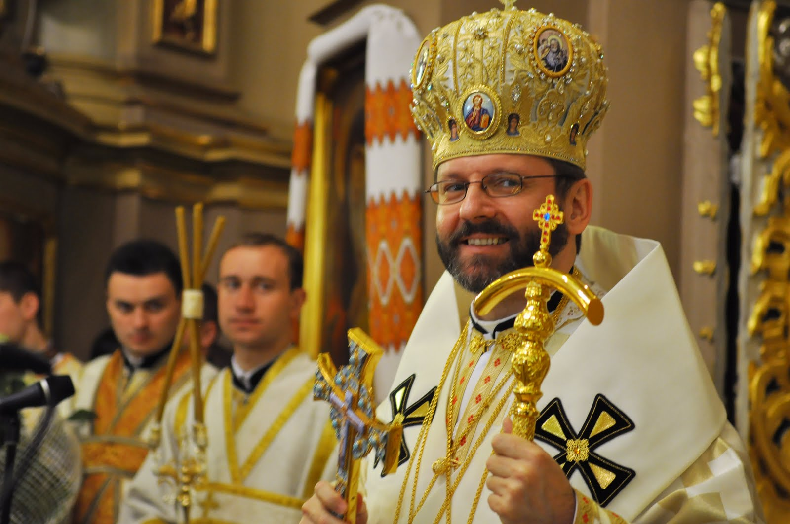 Patriarch Sviatoslav Speaks His Mind