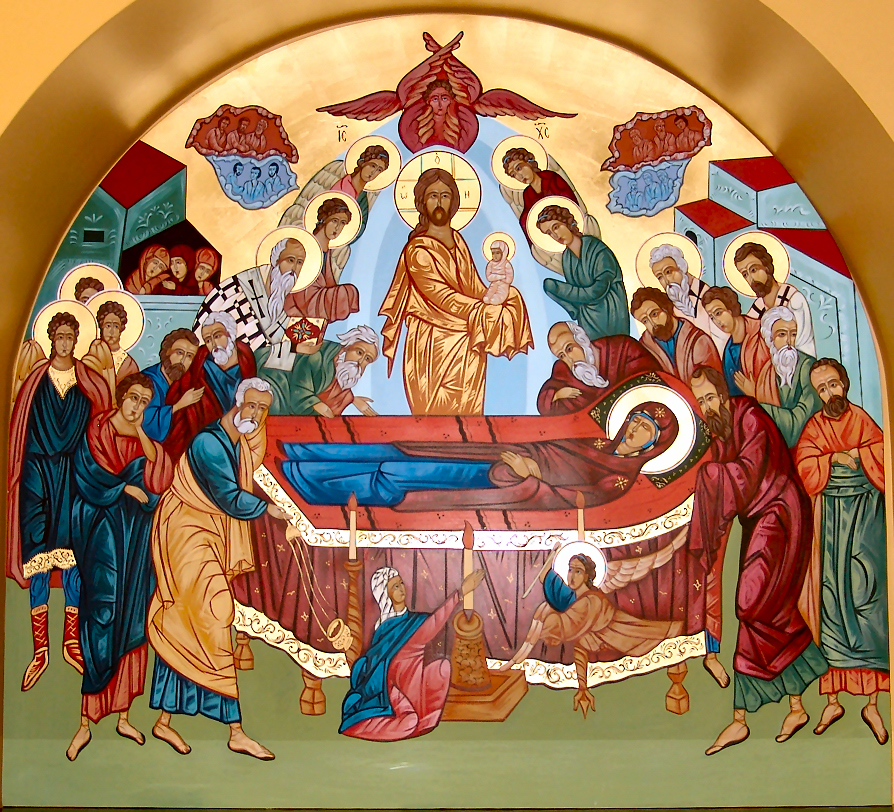 THE DORMITION OF THE MOST-HOLY BIRTH-GIVER OF GOD
