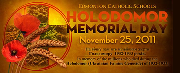 Holodomor  (Ukrainian Famine Genocide) Memorial Day