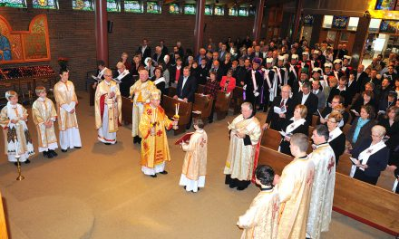 Bishop Robert: Why Stand in Church?