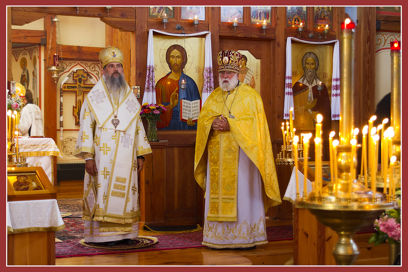 VIDEO: Bishop Benedykt of Lviv at St. Elias Church Ukrainian Catholic Church