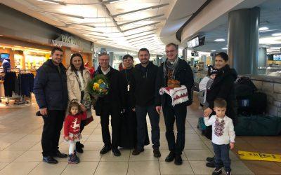 Photos: Bishop David's Visit to New Westminster